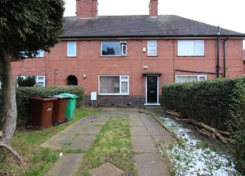 Thumbnail 3 bed terraced house for sale in Frinton Road, Nottingham
