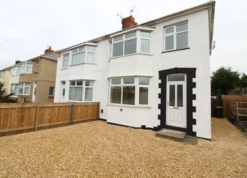 Thumbnail 3 bedroom semi-detached house for sale in Moorland Avenue, Newport