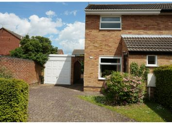 Thumbnail 2 bed semi-detached house for sale in Whitby Close, Kettering