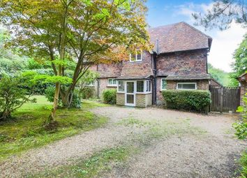 Thumbnail 3 bed detached house for sale in St. Olives Close, Back Lane, Cross In Hand, Heathfield