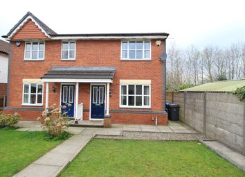 Thumbnail 3 bed semi-detached house for sale in Wainscot Close, Astley, Tyldesley, Manchester