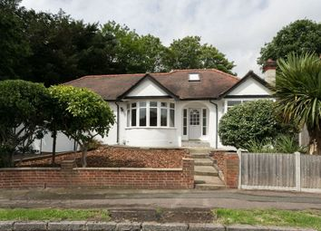 Thumbnail 4 bed detached bungalow for sale in Grove Road, London