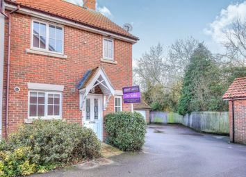 Thumbnail 3 bed end terrace house for sale in Salvia Close, Wymondham