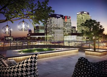 Thumbnail 1 bed flat to rent in Williamsburg Plaza, Canary Wharf