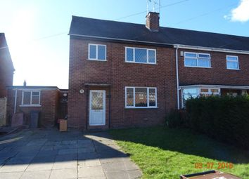 Thumbnail 3 bed terraced house to rent in Red Deeps, Caldwell, Nuneaton