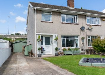 Thumbnail 3 bed semi-detached house for sale in Pant Road, Newport