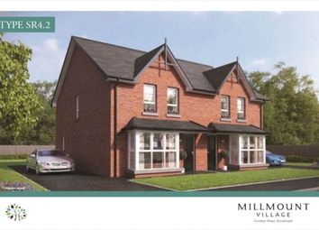 Thumbnail 3 bed semi-detached house for sale in Millmount Village, Comber Road, Dundonald