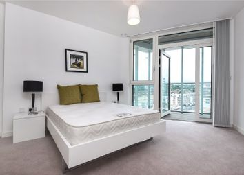 Thumbnail 3 bed flat to rent in Poldo House, 24 Cable Walk Enderby Wharf, Greenwich, London