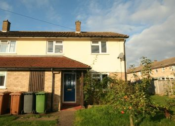 Thumbnail 2 bed end terrace house to rent in Baldwin Close, Wittering, Peterborough