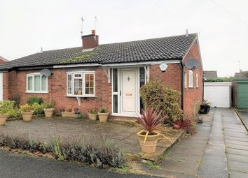 Thumbnail 2 bed bungalow for sale in Moorfield Drive, Wilberfoss, York