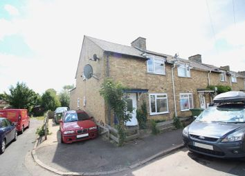 Thumbnail 2 bedroom end terrace house for sale in Avenue Road, Huntingdon, Cambridgeshire.