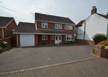 Thumbnail 5 bed property for sale in Meadow Road, New Costessey, Norwich