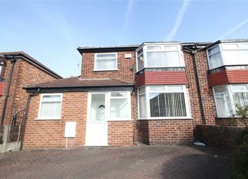 Thumbnail 3 bed semi-detached house to rent in Fairmile Drive, East Didsbury, Didsbury, Manchester