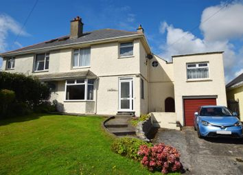 Thumbnail 4 bed semi-detached house for sale in Kimberley Park Road, Falmouth
