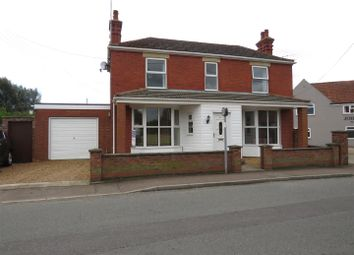 Thumbnail 3 bed detached house for sale in Manor Road, Dersingham, King's Lynn