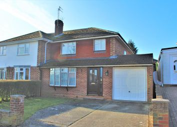 Thumbnail 3 bed semi-detached house for sale in Clanfield Crescent, Tilehurst, Reading
