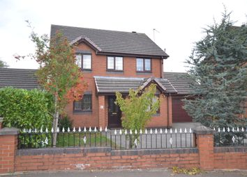 Thumbnail 4 bedroom detached house for sale in Rownall Road, Werrington, Stoke-On-Trent