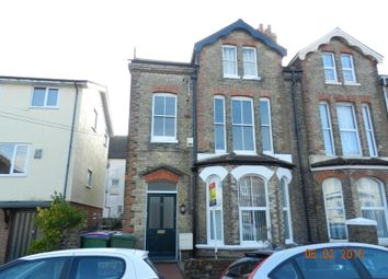 Thumbnail 1 bedroom flat to rent in Claremont Road, Folkestone