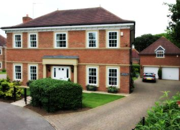 Thumbnail 5 bed detached house for sale in Cherry Tree Close, Brandesburton, Driffield