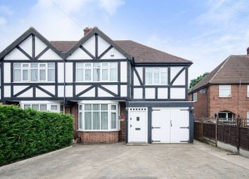 Thumbnail 3 bed semi-detached house for sale in Ickenham Road, Ruislip
