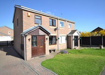 Thumbnail 3 bed semi-detached house for sale in Bransdale Avenue, Altofts, Normanton