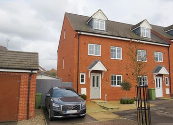 Thumbnail 4 bed end terrace house for sale in Badgers Holt, Woburn Sands, Milton Keynes