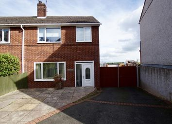 Thumbnail 3 bed semi-detached house for sale in Top Road, Summerhill, Wrexham