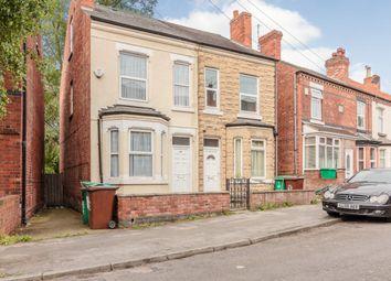 Thumbnail 3 bedroom semi-detached house for sale in Wallis Street, Nottingham, Nottinghamshire
