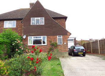 Thumbnail 3 bedroom semi-detached house for sale in Harebeating Crescent, Hailsham