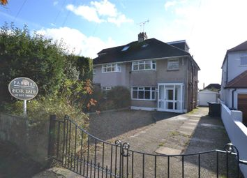 Thumbnail 4 bed semi-detached house for sale in Queens Avenue, Dorchester