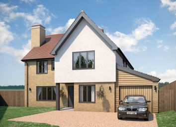 Thumbnail 4 bed detached house for sale in Plot 8, Dukes Park, Duke Street, Hintlesham, Ipswich, Suffolk.