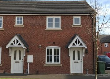 Thumbnail 2 bedroom end terrace house for sale in Redhill Road, Long Lawford, Rugby