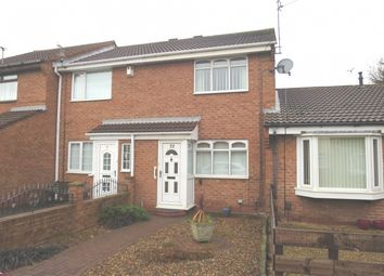 Thumbnail 2 bed terraced house for sale in Vernon Close, Lytton Park, South Shields