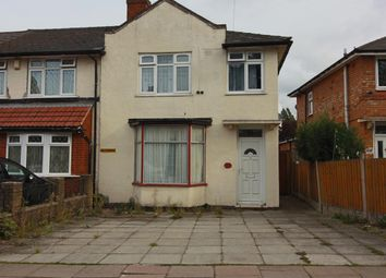 Thumbnail 3 bed end terrace house for sale in Capcroft Road, Billesley, Birmingham