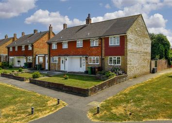 Thumbnail 3 bed semi-detached house for sale in Scotts Farm Road, West Ewell, Surrey