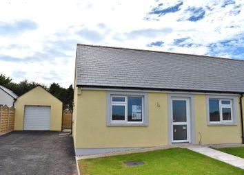 Thumbnail 2 bed bungalow for sale in Plot 20, Bowett Close, Hundleton, Pembroke