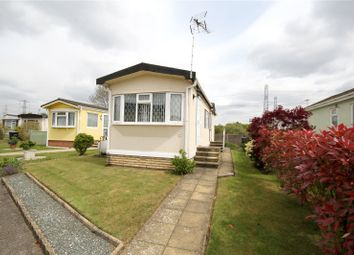 Thumbnail 2 bed mobile/park home for sale in New Site, Meadowlands, Addlestone, Surrey