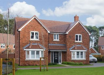 "Thumbnail 4 bedroom detached house for sale in ""Aston"" at Monument Road, Chalgrove, Oxford"