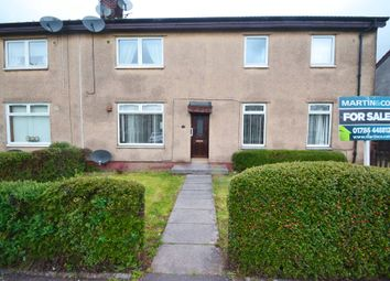 Thumbnail 3 bed flat for sale in Dovecot Road, Tullibody, Clackmannanshire