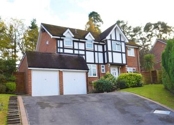 Thumbnail 4 bed detached house for sale in Gainsborough Close, Camberley, Surrey