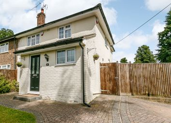 Thumbnail 4 bed semi-detached house for sale in Borers Close, Copthorne