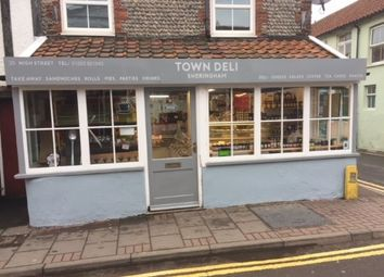 Thumbnail Restaurant/cafe for sale in High Street, Sheringham