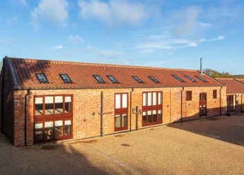 Thumbnail 5 bed barn conversion for sale in School Lane, Little Melton