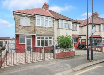 Thumbnail 4 bed semi-detached house to rent in Park Road, Wembley