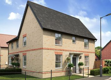 "Thumbnail 3 bedroom semi-detached house for sale in ""Hadley"" at Caistor Lane, Poringland, Norwich"