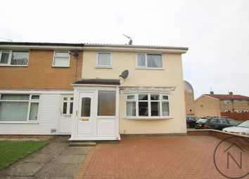 Thumbnail 3 bed semi-detached house for sale in St. Barbaras Walk, Newton Aycliffe