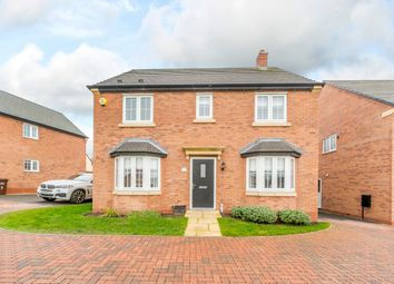 Thumbnail 4 bed detached house for sale in Brookfield Road, Leicester, Leicestershire