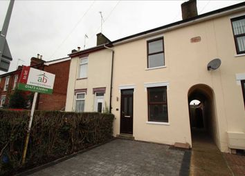 Thumbnail 3 bed terraced house to rent in Rosehill Road, Ipswich