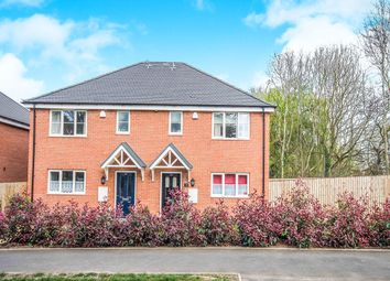 Thumbnail 3 bedroom semi-detached house for sale in A Bennetts Road North, Keresley End, Coventry