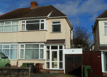 Thumbnail 3 bed semi-detached house for sale in Burland Avenue, Claregate, Wolverhampton